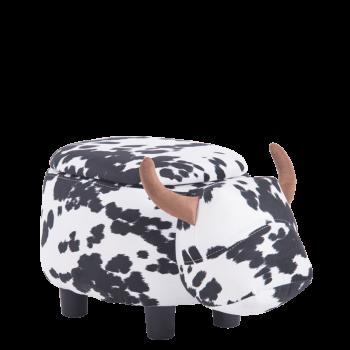 """Табуретка за деца """"Черно – бяла крава"""" - табуретка тип ракла"""