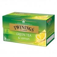 Чай Twinings Зелен с лимон