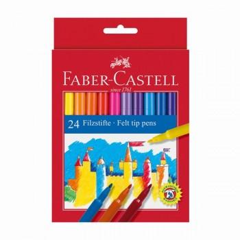 Флумастери Faber - Castell 24 цвята