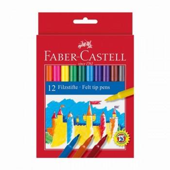 Флумастери Faber - Castell 12 цвята