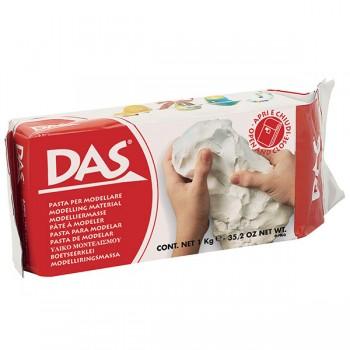 Глина DAS 1 кг. - бяла