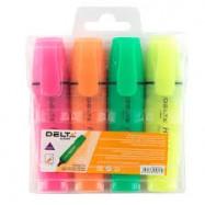 Текст маркер DELTA 4 цвята...