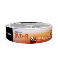 DVD+R Sony 16x 4.7 GB - 25...