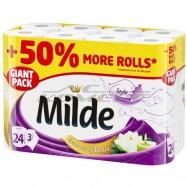 Тоалетна хартия Milde 24...
